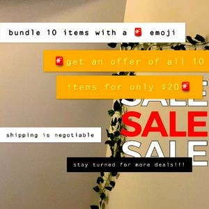 GET 10 ITEMS FOR $20